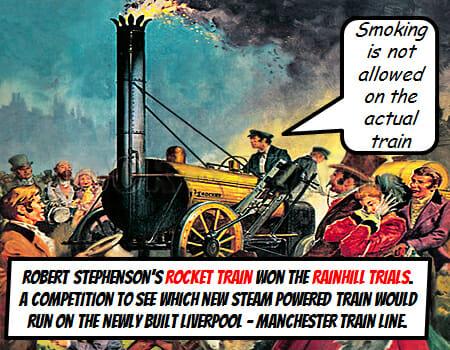 Liverpool Industrial Revolution Rainhill Trials