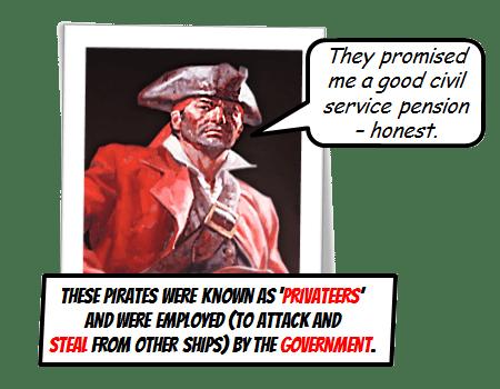 Liverpool Privateer Pirates