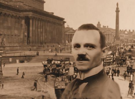 Alois Hitler in Liverpool
