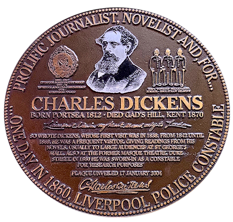 Charles Dickens Liverpool