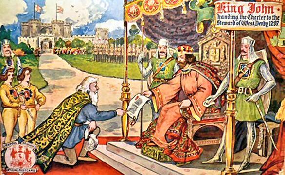 King John Liverpool Charter 1207