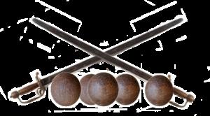 civil war sword cannon ball