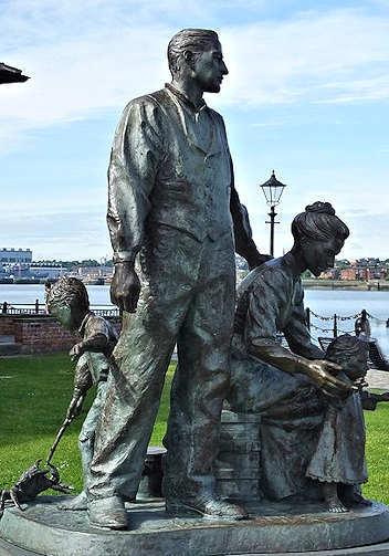 Irish migrants to Liverpool