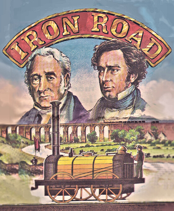 George and Robert Stephenson the fathers of the Railways
